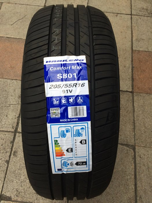 海倍德輪胎  HABILEAD  S801  205/55/16  安靜  耐磨  計程車專用  南港 普利司通 可參考