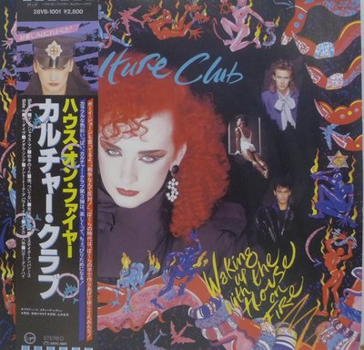 §小宋唱片§日版/Culture Club/Waking Up With The House On Fire二手西洋黑膠