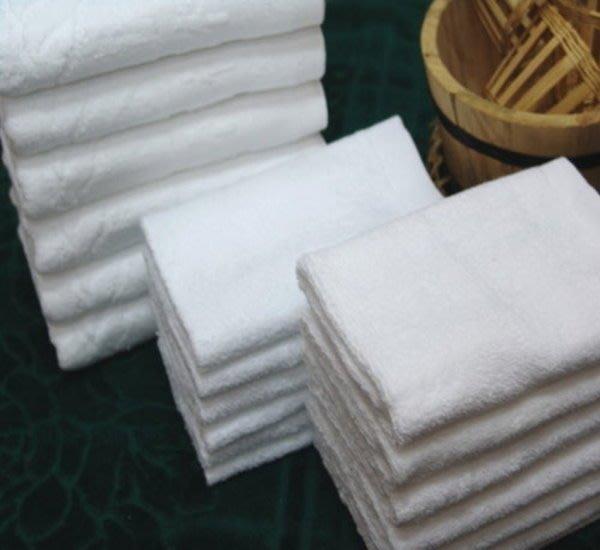 【San_Shang寢飾用品購物網】《適中款28兩/打白毛巾五星級飯店日租民宿專用》