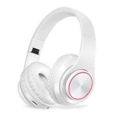 現貨/超長待機頭戴式藍芽耳機插卡摺疊七彩光運動跑步手機電腦通用耳麥/海淘吧F56LO 促銷價