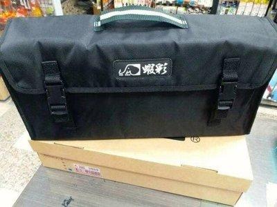 (桃園建利釣具)新款 蝦彩槍箱背包可手提/肩背袋/蝦彩槍箱背袋(中)(45×15×9)