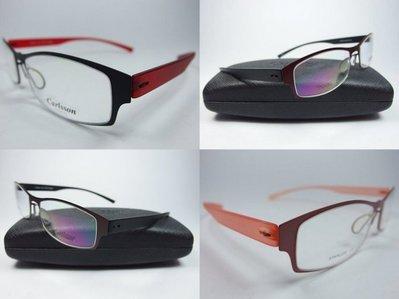 信義計劃眼鏡】全新真品 Carlsson 眼鏡 超輕超彈性TR90材質 超越 Mono Design 詩樂Slight