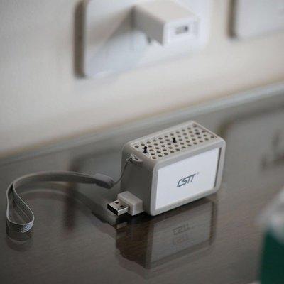 隨身迷你空氣清淨機 Ai408B 輕巧機身 無耗材超高CP值 享受清新負離子 USB充電 可蓄電清淨機 智能空氣淨化器