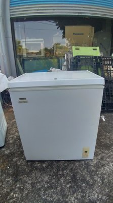 高雄屏東萬丹電器醫生 中古二手 海爾上掀式冷凍櫃 150公升  自取價4999