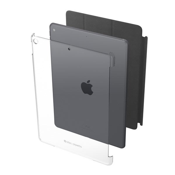 英國 Pipetto iPad 10.2 透明背蓋保護殼 可搭配 Smart Cover / Keyboard 喵之隅