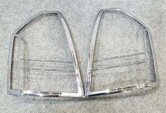 克萊斯勒 300 300C 05-10 電鍍後燈框 鍍鉻尾燈框 改裝 台灣製