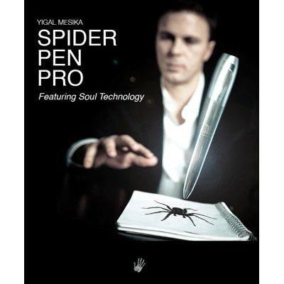 【天天魔法】正宗原廠~蜘蛛筆(二代)(Spider Pen Pro by Yigal Mesika)(道具筆+DVD教學)
