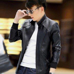 yes99buy加盟-2014秋款새로운 男士韓味時尚修身青春立領潮流薄款外套 夾克