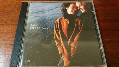 SOLITUDES TAMIA PIERRE FAVRE 1992年經典ecm cd爵士古典發燒錄音盤寂靜以外最美的聲音ECM1446絕版極罕見盤