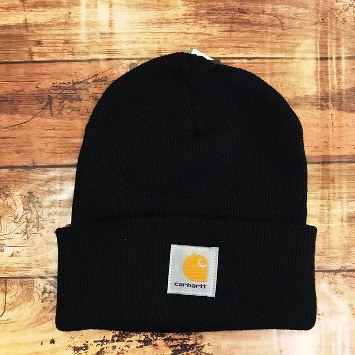 ☆AirRoom☆【現貨】2018AW Carhartt A18 Acrylic Watch Hat 毛帽 保暖 黑色