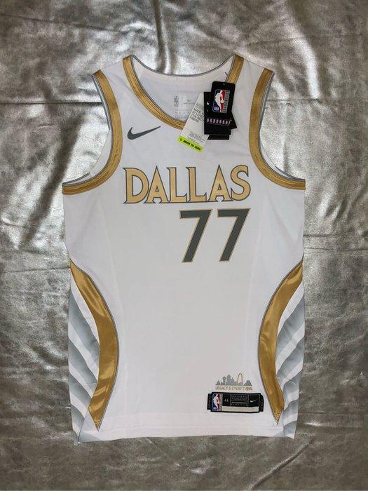 賣個JORDAN NBA獨行俠 20-21最新城市版球衣 Luka Doncic Nike AU 44m 52XL球員版
