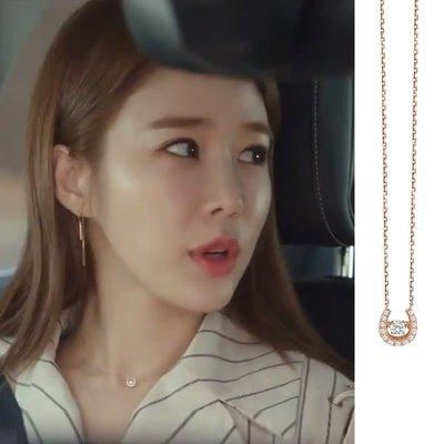 預購-韓劇同款觸及真心劉仁娜同款項鍊鬼怪設計感少女研究所顯瘦超仙潮
