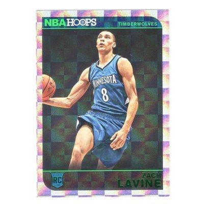 倒數2張!(RC) 公牛一哥 Zach LaVine 高比例NBA Hoops Green Foil Parallel Rookie版新人RC卡 2014-15