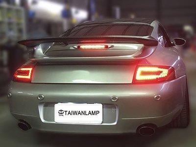 《※台灣之光※》全新PORSCHE 996類997 PDK款LED紅墨尾燈組方向燈LED CARRERA 4 911