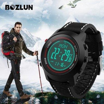 思美 BOZLUN戶外多功能海拔氣壓溫度登山專用錶