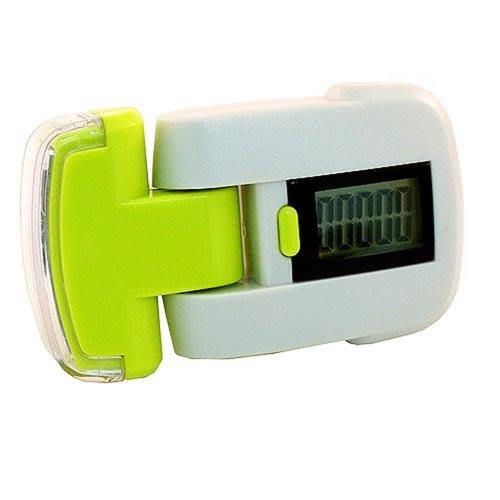 LED燈計步器 3LED可調角度超白光手電筒功能 步數最高可累積至9999步 3140