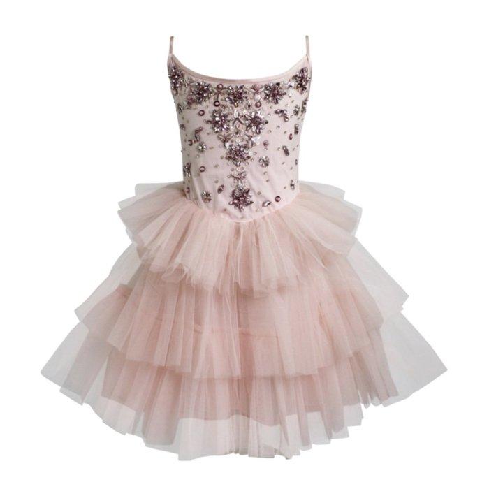 ♡NaNa Baby♡ 荷蘭 DOLLY 公主奇幻冒險系列-胡桃鉗蕾絲洋裝(芭蕾粉)