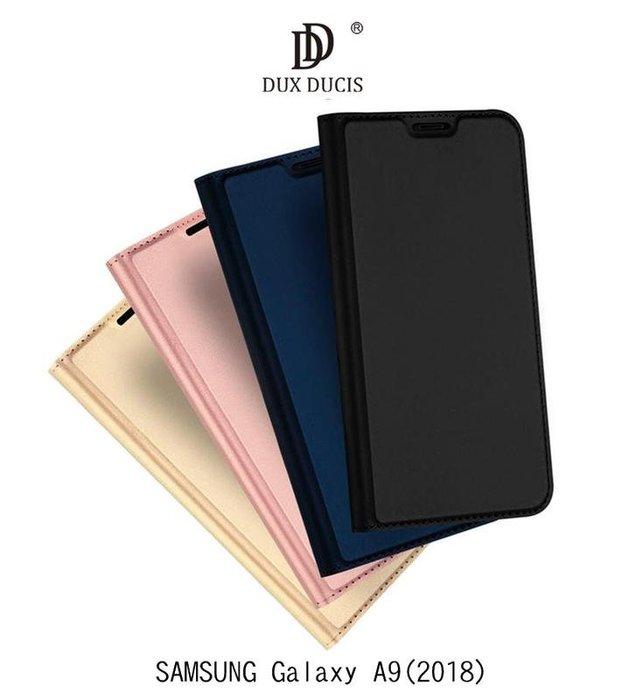 *phone寶*DUX DUCIS SAMSUNG A9(2018)/ A7(2018) 奢華簡約側翻皮套 可站立 保護