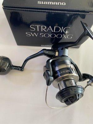 SHIMANO 20年 STRADIC SW 岸拋 池釣 軟絲 白帶 鐵板 捲線器 岸拋鐵板 5000XG/5000PG/6000XG