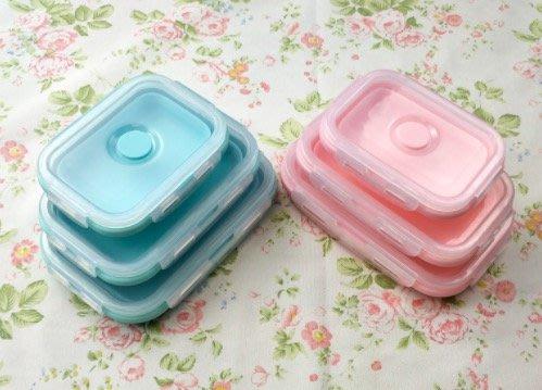 【生活小魷魚】✨現貨✨ 伸縮保鮮盒便當盒三件組