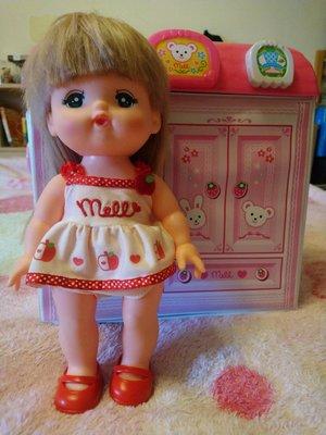 「美樂媽咪」小美樂娃娃+美容院+推車+衣櫥+美髮配件