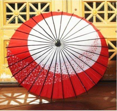 【易發生活館】日月小櫻花日式跳舞傘/旗袍和服/COS傘動漫道具傘新款四色入熱賣