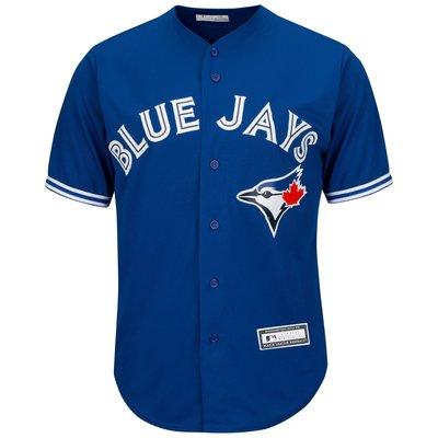 正品MLB 美國職棒大職盟 多倫多 藍鳥隊 Toronto Blue Jays 無背號 青年版 棒球衣 L號 現貨