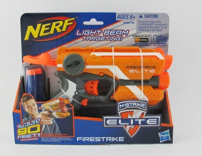 【阿LIN】53378A ELITE 夜襲者紅外線衝鋒槍 NERF 模型槍 射擊 孩之寶