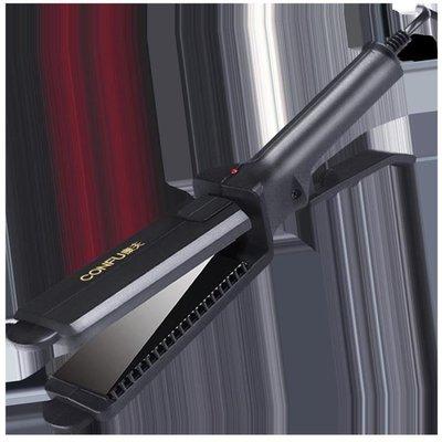 康夫電夾板理發店專用直發器不傷發拉直板夾捲發兩用內扣熨板女