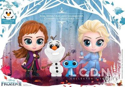 Hot Toys《冰雪奇緣2》COSB692 艾莎 安娜 雪寶 火蜥蜴