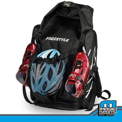 【第三世界】[FREESTYLE直排輪外掛式後背包(大)] 平花 競速包包 直排輪後背包