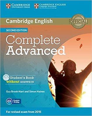 劍橋英檢 Complete Advanced Student's Book w/out Answers w/CD-ROM