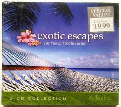發燒強片 / 丹吉布森 Dan Gibson / 異國情挑 exotic escapes 2CD / Solitudes出版 / 加拿大原裝 破盤價 全新未拆