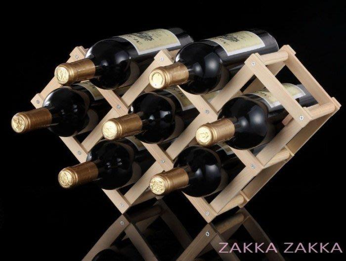 ♡折疊酒架 酒瓶架子 6瓶裝 歐式時尚紅酒架 葡萄酒架 電視柜酒柜吧台客廳餐廳居家裝飾佈置擺飾♡幸福底家♡