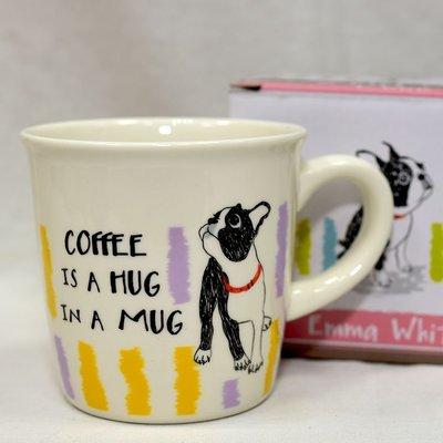 法鬥犬 磁器 咖啡杯 馬克杯 日本設計...