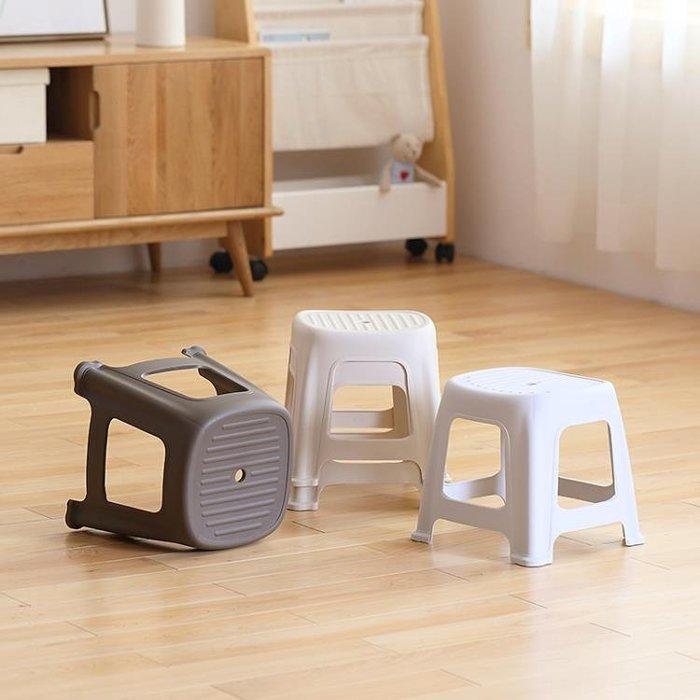 簡約塑料小凳子客廳家用方凳成人兒童板凳