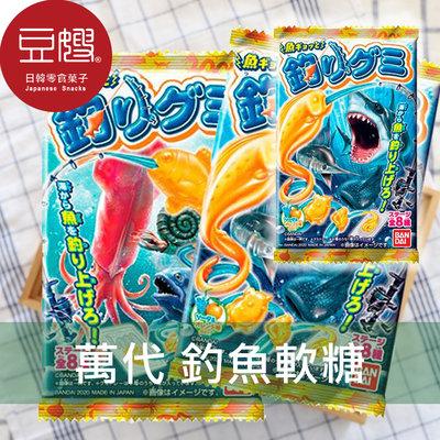 【豆嫂】日本零食 BANDAI萬代 釣魚軟糖14g(隨機出貨)