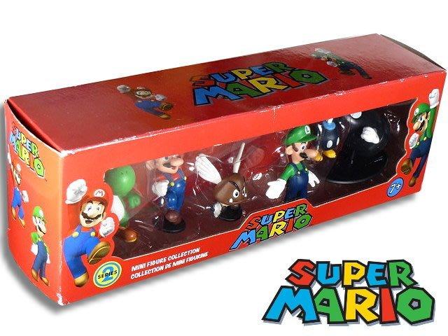 【 金王記拍寶網 】M207 瑪莉歐 公仔吊卡一盒 (((SUPER MARIO 瑪莉歐公仔賣場)))