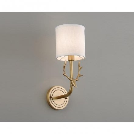 PRONG鹿角銅色壁燈