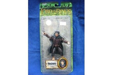 TOY BIZ 魔戒 佛羅多 LORD OF THE RINGS FRODO WITH SWORD ATTACK ACTION (LOTR-81383)