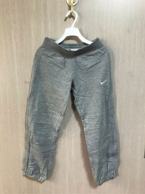 NIKE 灰色棉長褲