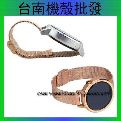MOTO360二代錶帶 ASUS ZenWatch 2 VivoWatch LG G Watch 替換錶帶 米蘭尼斯腕帶