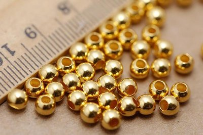 看山美物·玉器 足金  999黃金 光面轉運珠 路路通 圓珠 一個轉運珠的價格