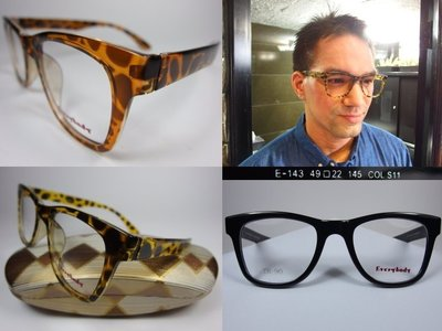 【信義計劃】Every Body 眼鏡 TR90 膠框大框 超輕超越 Mono Design Piovino Rior