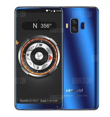 VKworld S8 4G RAM+64G 6750T八核手機6寸2k屏人脸解