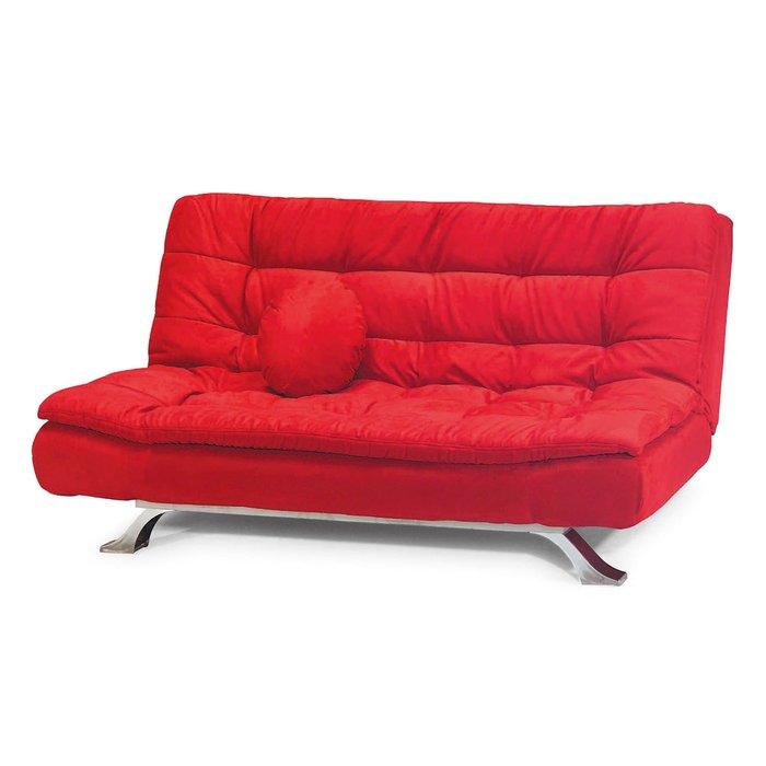 【在地人傢俱】19 樂樂購-2002型紅色布2人/二人/雙人沙發床/沙發椅 JL95-1