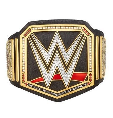 ☆阿Su倉庫☆WWE摔角 WWE World Heavyweight Championship Belt 1:1紀念腰帶