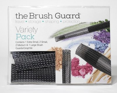【愛來客】美國The Brush Guard Large Variety Pack Graphit洗晾收納化妝刷具保護套