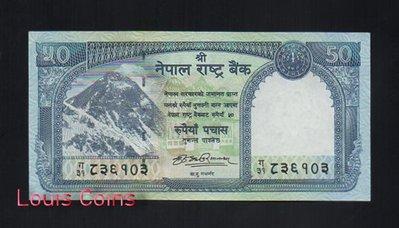 【Louis Coins】B118-NEPAL--2012尼泊爾聖山 聖母峰 珠穆朗瑪峰紙幣50 Rupees
