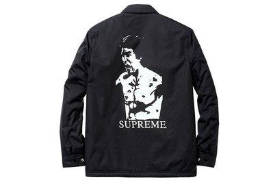 全新商品 Supreme Bruce Lee Coach Jacket 李小龍 防風 教練 外套 風衣